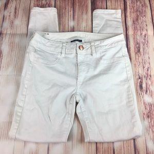AE White Skinny stretch Jeans